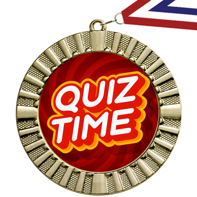Quiz Time Medaille
