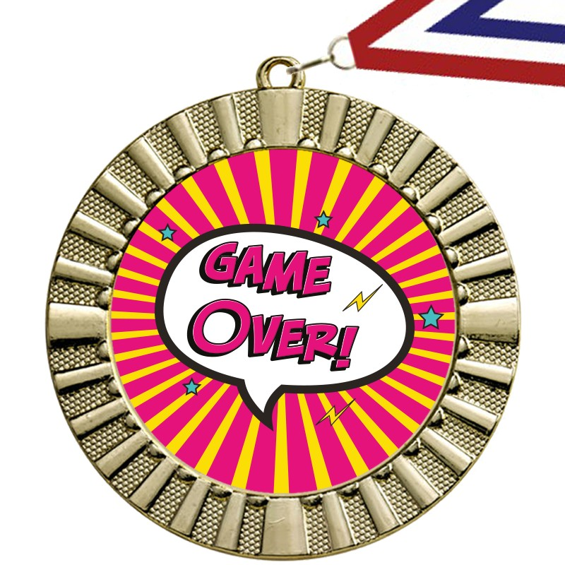 Game Over Medaille 1